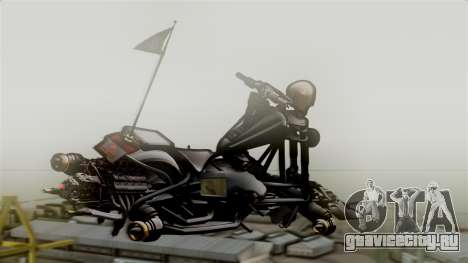 Hexer Moto Jet для GTA San Andreas вид слева