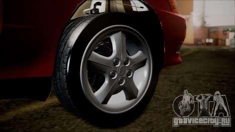 Toyota Mark II X90 для GTA San Andreas вид сзади слева