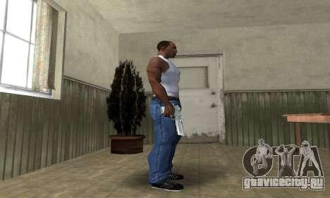 Cool Silver Deagle для GTA San Andreas третий скриншот