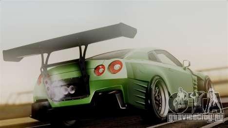 Nissan GT-R R35 Bensopra 2013 для GTA San Andreas вид слева