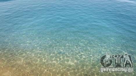 Вода в разрешении 2K v1.5 для GTA 5 второй скриншот