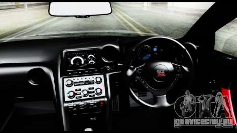 Nissan GT-R R35 2012 для GTA San Andreas вид справа