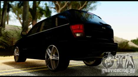 Jeep Grand Cherokee SRT8 Restyling M Final для GTA San Andreas вид слева