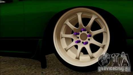 Nissan 240SX S13 для GTA San Andreas вид сзади слева