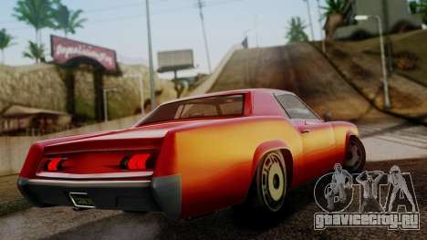 GTA 5 Albany Virgo для GTA San Andreas вид слева