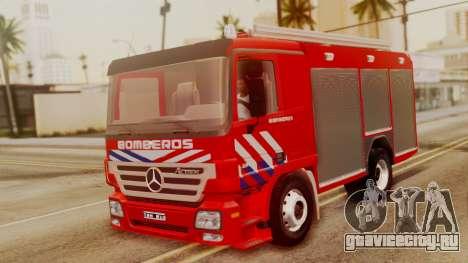 Mercedes-Benz Actros Bomberos для GTA San Andreas