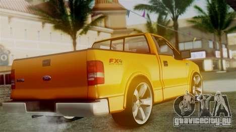 Ford F-150 Sport для GTA San Andreas вид слева