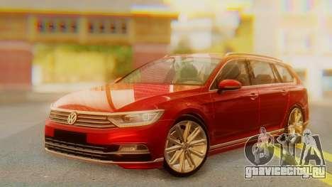 Volkswagen Passat Variant R-Line для GTA San Andreas