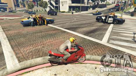 Police Chase Random Event для GTA 5 второй скриншот