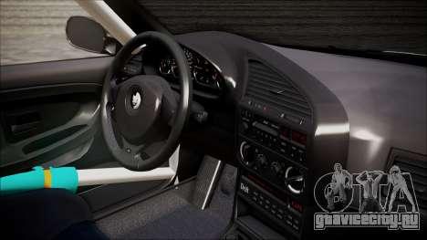 BMW M3 E36 GT-Shop для GTA San Andreas вид сзади слева