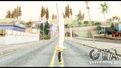 Falchion Sword of Final Fantasy для GTA San Andreas второй скриншот