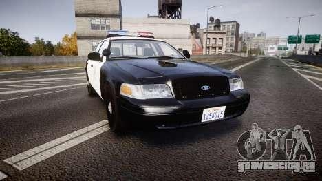 Ford Crown Victoria 2011 LAPD [ELS] rims2 для GTA 4