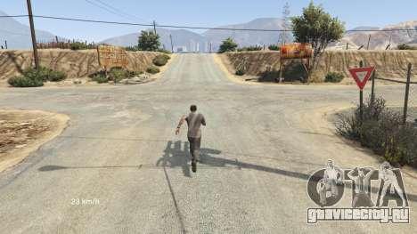 Flight Speedometer V 2.0 для GTA 5 второй скриншот