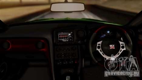 Nissan GT-R R35 Bensopra 2013 для GTA San Andreas вид справа