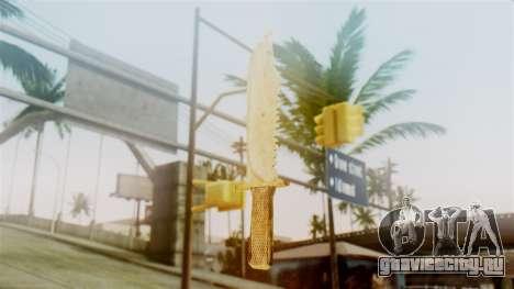 Red Dead Redemption Knife Sergio для GTA San Andreas