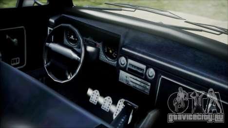 GTA 5 Vapid Slamvan для GTA San Andreas вид справа