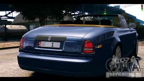Rolls-Royce Phantom 2013 Coupe v1.0 для GTA 4 вид сзади слева