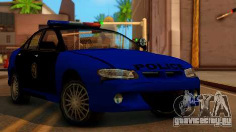 Police HSV VT GTS SA Style для GTA San Andreas