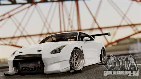 Nissan GT-R R35 Bensopra 2013 для GTA San Andreas вид сбоку