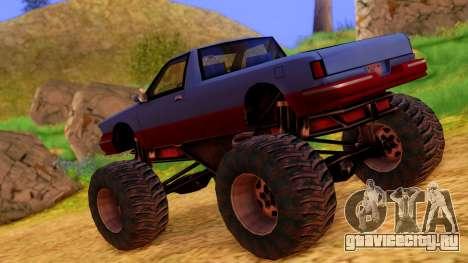 Premier Monster для GTA San Andreas вид слева