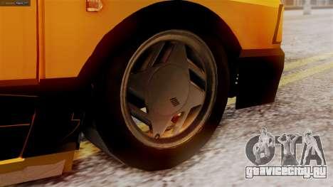 Fiat 147 Al Piso для GTA San Andreas вид сзади слева