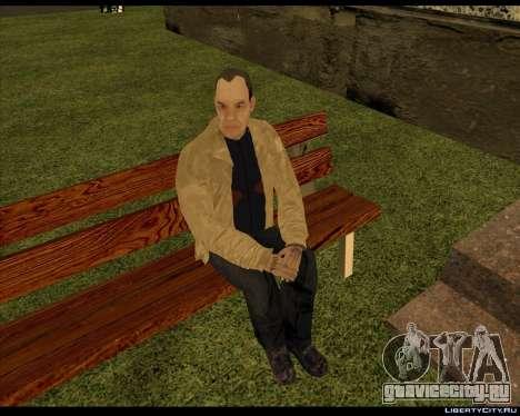 Бомж Компот для GTA San Andreas второй скриншот