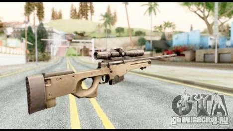 AWM L115A1 для GTA San Andreas второй скриншот