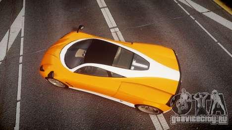 GTA V Pegassi Osiris для GTA 4 вид справа