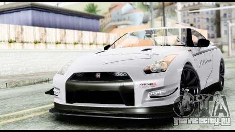 Nissan GT-R R35 2012 для GTA San Andreas