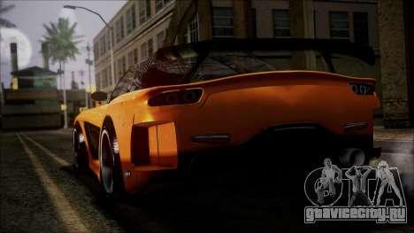 Mazda RX-7 Veilside для GTA San Andreas вид слева