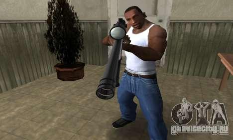Sniper Rifle для GTA San Andreas второй скриншот