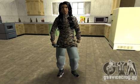 Cool Tokio Girl для GTA San Andreas