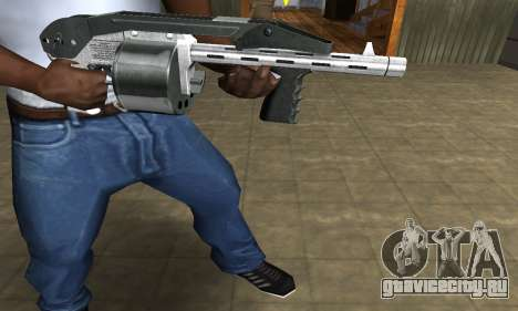 Silver Granate Combat Shotgun для GTA San Andreas второй скриншот