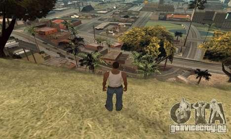 Увеличение дальности прорисовки для GTA San Andreas третий скриншот