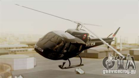 Helicopter National Police of Paraguay для GTA San Andreas