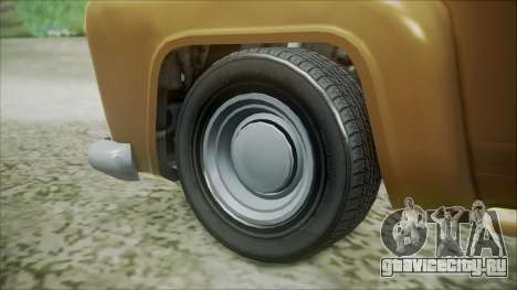 GTA 5 Vapid Slamvan для GTA San Andreas вид сзади слева