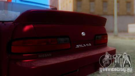 Nissan Silvia S13 Shakotan для GTA San Andreas вид сзади