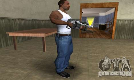 Silver Granate Combat Shotgun для GTA San Andreas третий скриншот