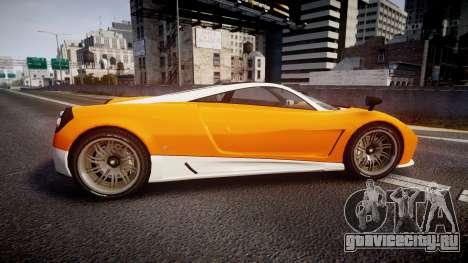 GTA V Pegassi Osiris для GTA 4 вид слева