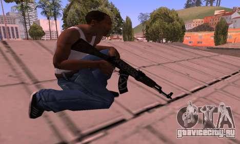 AK-47 Повстанец для GTA San Andreas третий скриншот