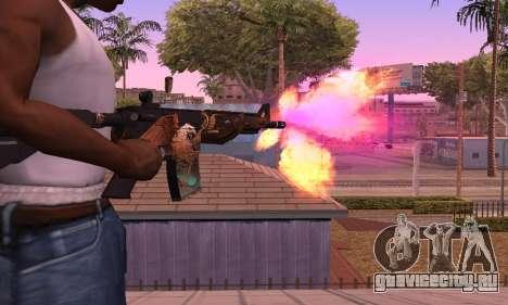 M4 Grifin для GTA San Andreas второй скриншот