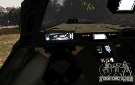 ККОН M12 Вепрь из Halo Reach для GTA 4 вид справа