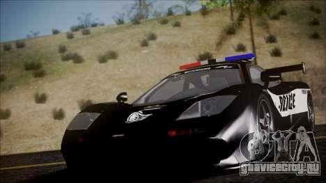 NFS Rivals McLaren F1 LM для GTA San Andreas вид справа