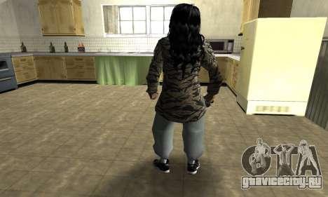 Cool Tokio Girl для GTA San Andreas третий скриншот