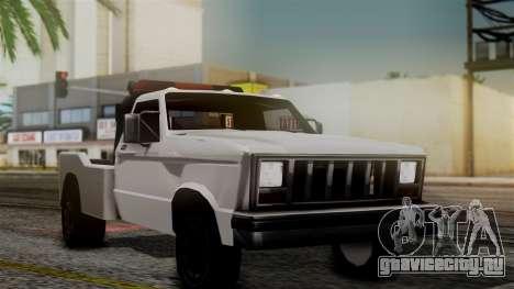 Towtruck New Edition для GTA San Andreas вид сзади слева