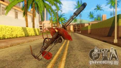 Atmosphere Flame Thrower для GTA San Andreas второй скриншот
