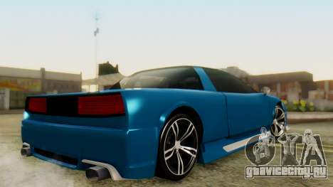 Infernus BMW Revolution для GTA San Andreas вид слева
