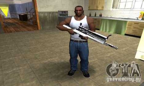 Bitten Sniper Rifle для GTA San Andreas третий скриншот