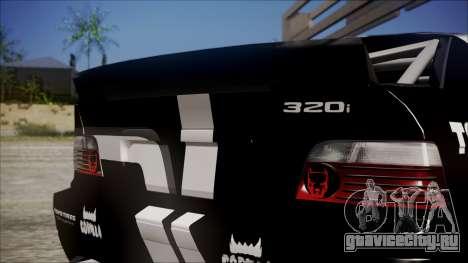 BMW M3 E36 GT-Shop для GTA San Andreas вид справа