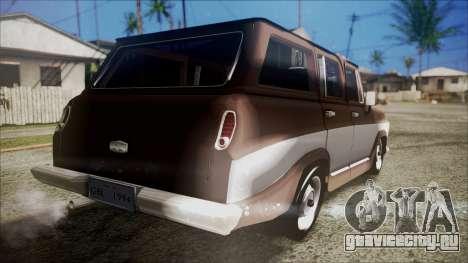 Chevrolet Veraneio для GTA San Andreas вид слева